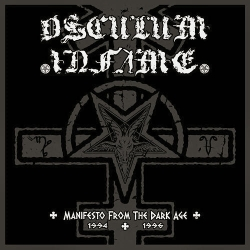 OSCULUM INFAME Manifesto From the Dark Age (1994-1996) CD