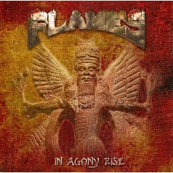 FLAMES In Agony Rise, Digipack CD