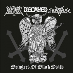 POGOST / DECAYED / AZAGHAL Bringers of Black Death, CD