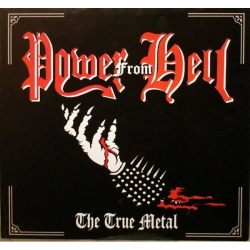 POWER FROM HELL The True Metal, CD